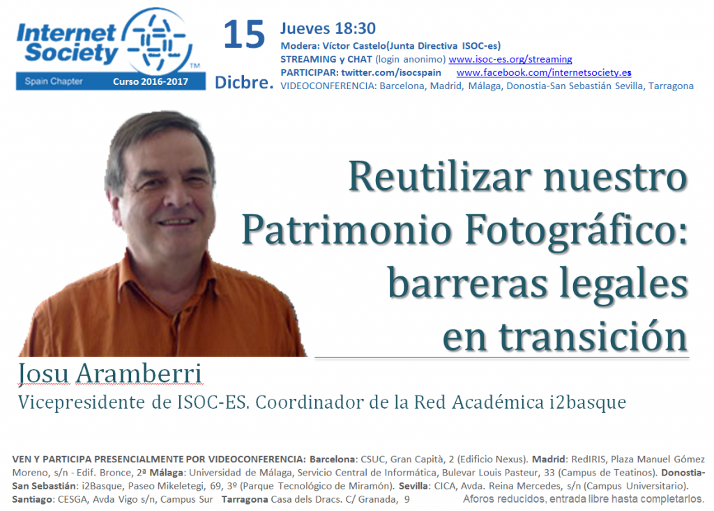 Conferencia ISOC-Es Josu Aramberri
